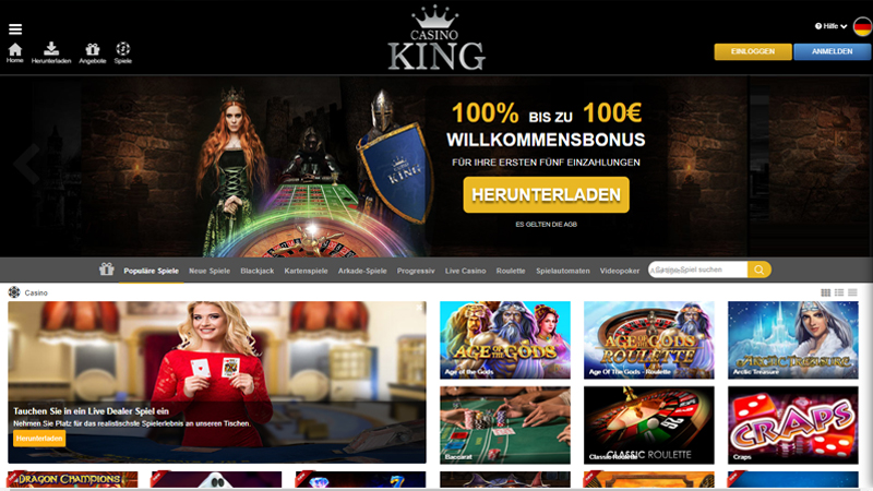 Casino King test