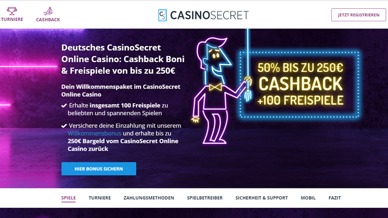 Casino Secret test