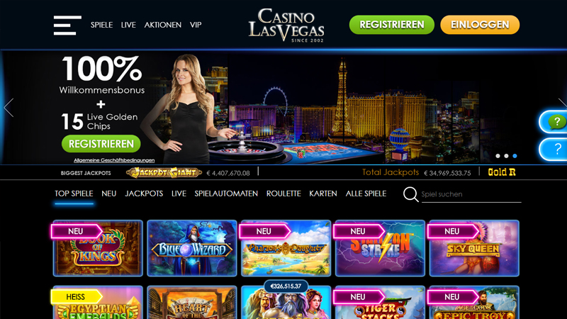 Casino Las Vegas test