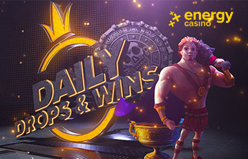 Energy Casino Drops and Wins