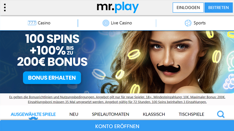 Mr.Play Casino test